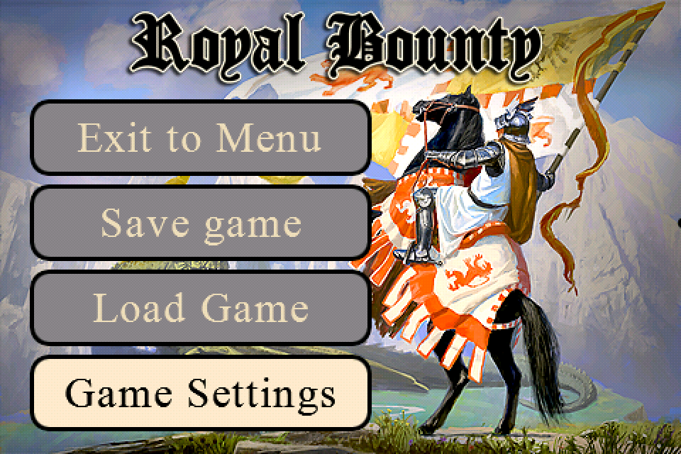 Screenshot Royal Bounty iPhone