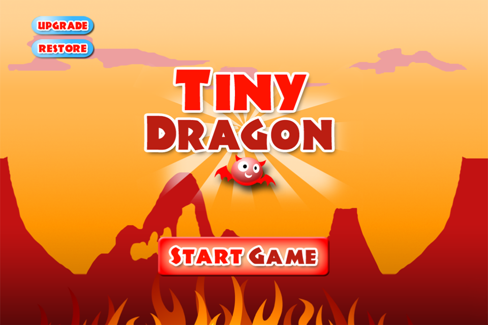 A Tiny Dragon Wing - Free Flying Game